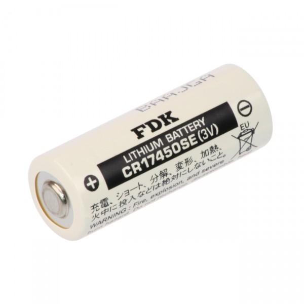 FDK Lithium 3 Volt Batterie CR 17450SE A - Zelle - 3V / 2500mAh - Hochstromzelle