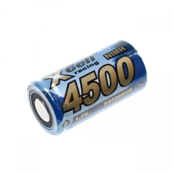 XCell Sub C Akku - 1,2V / 4500mAh / NIMH - X4500SCR Hochstromakku für Industrie