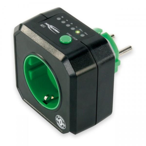Ansmann zeitgesteuerte Steckdose - AES1 - Steckdose mit Zero-Watt-Technologie
