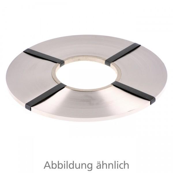 Schweißband vernickelt 5 x 0,15 mm auf Rolle - ca. 1,18 kg/Rolle Preis pro kg