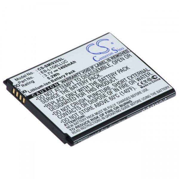 Handyakku - EB-L1G6LLUC - 3,7V / 2100mAh Li-Ion - Smartphone Akku für Samsung Galaxy S3