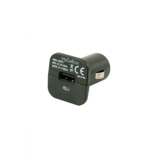 HyCell USB-Kfz-Ladegerät 1A Ladestrom