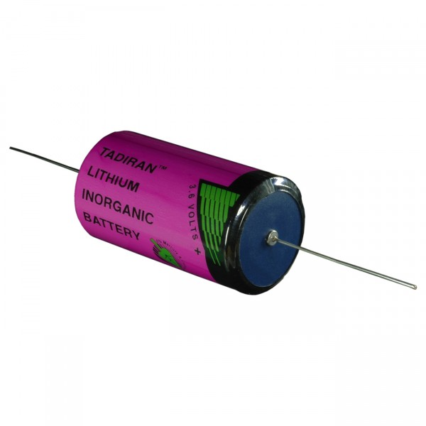 Tadiran Lithium Batterie - SL 2780/P D - Industrie - Zelle mit Axialdraht - 3,6V / 19000mAh