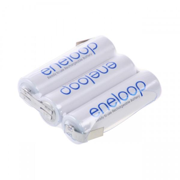 eneloop Akkupack F1x3 Reihe mit LF Zelle - 3,6V / 2000mAh / NIMH - 3,6 Volt AA Ni-Mh Akku