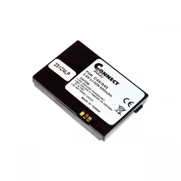 Handyakku für Siemens für C45/M50/MT50/ME50 A50/M45 B6847