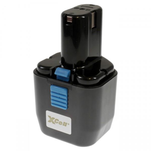 XCell Ersatzakku für Hitachi EB12, 0706330012