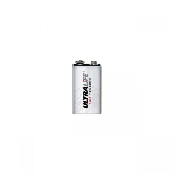 Ultralife Lithium Blockbatterie - 9V / 1200mAh - 9 Volt Block Batterie