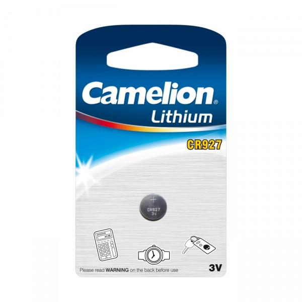 Camelion Lithium-Knopfzelle CR927