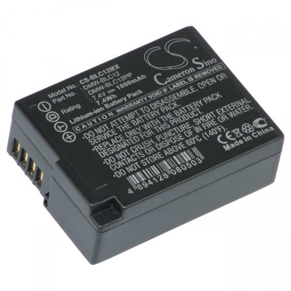 Digicamakku für Panasonic Lumix DMC-GH2 / DMC-FZ200 DMW-BLC12