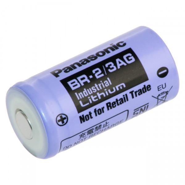 Panasonic Lithium 2/3 A Batterie BR 2/3AGN - 3V / 1450mAh - 3 Volt 2/3 Mignon Industrie Batterien