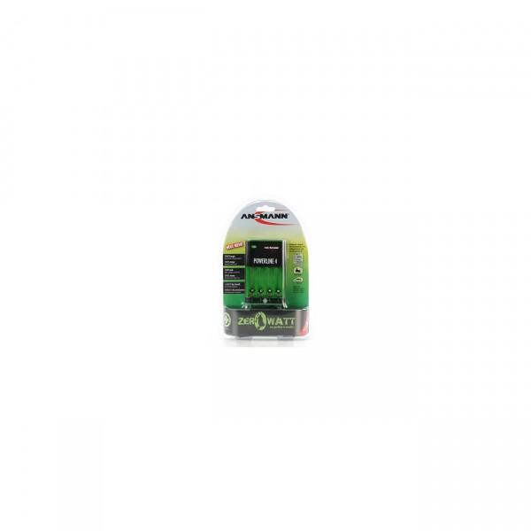 Ansmann Powerline 4 Ladegerät - ZeroWatt - Steckerladegerät